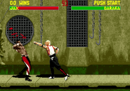 Mortal Kombat II (SMD)  ©  1994   3/3