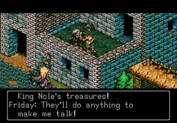 Landstalker: The Treasures Of King Nole (SMD)  © Sega 1992   3/3