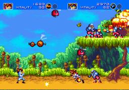 Gunstar Heroes (SMD)  © Sega 1993   3/6