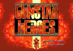 Gunstar Heroes (SMD)  © Sega 1993   1/6