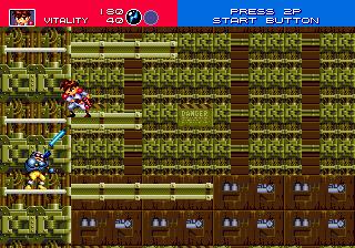 Gunstar Heroes (SMD)  © Sega 1993   6/6