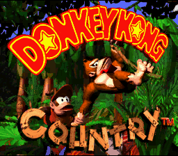 Donkey Kong Country (SNES)   © Nintendo 1994    1/6