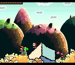 Super Mario World 2: Yoshi's Island (SNES)  © Nintendo 1995   3/3