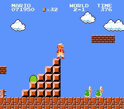 Super Mario Bros. (NES)  © Nintendo 1985   3/3