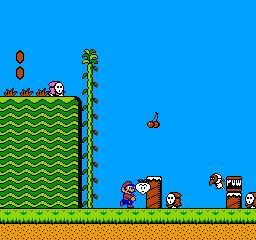 Super Mario Bros. 2 (NES)  © Nintendo 1988   2/3