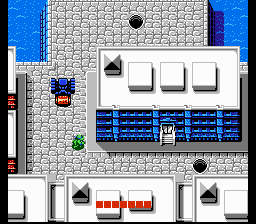 Teenage Mutant Ninja Turtles (NES)  © Palcom 1989   1/3
