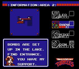 Teenage Mutant Ninja Turtles (NES)  © Palcom 1989   3/3