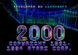 Tempest 2000 (JAG)  © Atari Corp. 1994   1/13