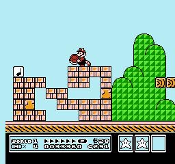 Super Mario Bros. 3 (NES)  © Nintendo 1988   5/40