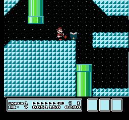 Super Mario Bros. 3 (NES)  © Nintendo 1988   10/40