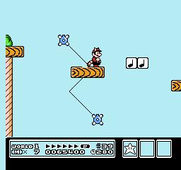 Super Mario Bros. 3 (NES)  © Nintendo 1988   11/40