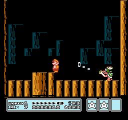 Super Mario Bros. 3 (NES)  © Nintendo 1988   16/40