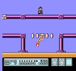 Super Mario Bros. 3 (NES)  © Nintendo 1988   18/40