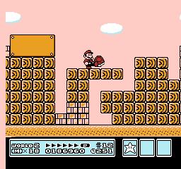 Super Mario Bros. 3 (NES)  © Nintendo 1988   24/40