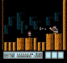 Super Mario Bros. 3 (NES)  © Nintendo 1988   29/40
