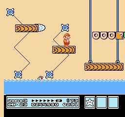 Super Mario Bros. 3 (NES)  © Nintendo 1988   32/40