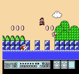Super Mario Bros. 3 (NES)  © Nintendo 1988   33/40