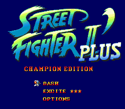 Street Fighter II': Special Champion Edition (SMD)   © Capcom 1993    2/3