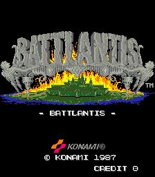 Battlantis (ARC)  © Konami 1987   1/3