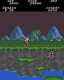 Contra (ARC)  © Konami 1987   2/4