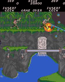Contra (ARC)  © Konami 1987   3/4