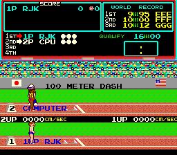 Hyper Olympic (ARC)  © Konami 1983   2/4