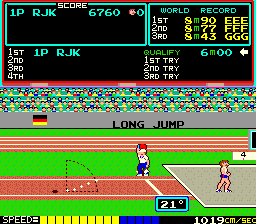Hyper Olympic (ARC)  © Konami 1983   3/4