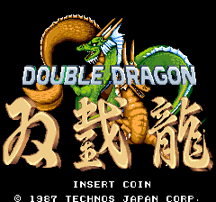 Double Dragon (ARC)   © Taito 1987    1/3