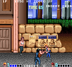 Double Dragon (ARC)   © Taito 1987    3/3