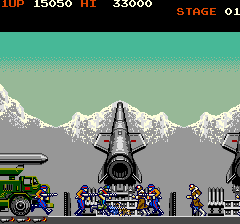 Green Beret (ARC)   © Konami 1985    6/6