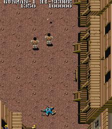 Gun Smoke (ARC)  © Capcom 1985   3/4