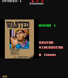 Gun Smoke (ARC)  © Capcom 1985   4/4
