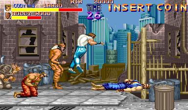 Final Fight  © Capcom 1989  (ARC)   3/4