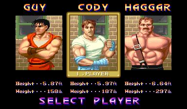 Final Fight  © Capcom 1989  (ARC)   4/4