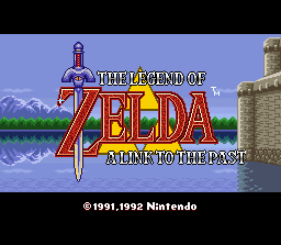 The Legend Of Zelda: A Link To The Past (SNES)   © Nintendo 1991    1/3