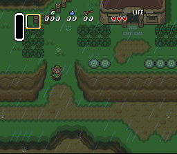 The Legend Of Zelda: A Link To The Past (SNES)   © Nintendo 1991    2/3
