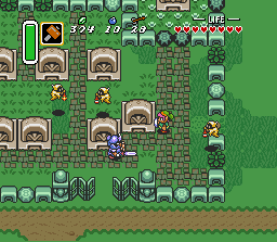 The Legend Of Zelda: A Link To The Past (SNES)   © Nintendo 1991    3/3