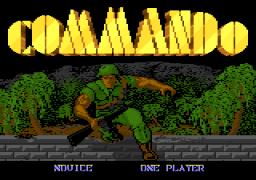 Commando (7800)  © Atari Corp. 1989   1/3