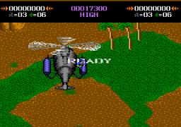 Commando (7800)  © Atari Corp. 1989   2/3