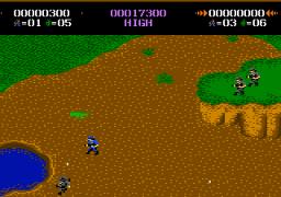 Commando (7800)  © Atari Corp. 1989   3/3
