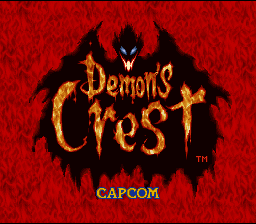 Demon's Crest (SNES)  © Capcom 1994   1/6