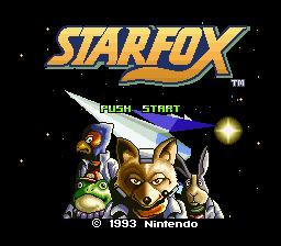 Starwing (SNES)  © Nintendo 1993   1/5
