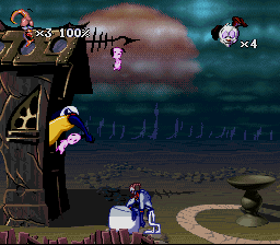 Earthworm Jim 2 (SNES)   © Virgin 1995    2/3