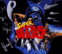 Super Star Wars (SNES)  © LucasArts 1992   1/5