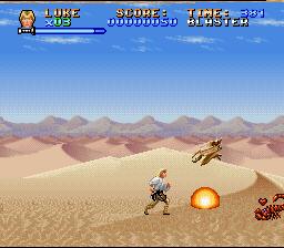 Super Star Wars (SNES)  © LucasArts 1992   2/5