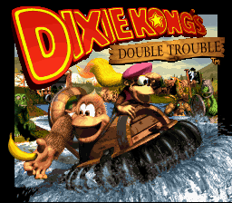 Donkey Kong Country 3: Dixie Kong's Double Trouble (SNES)   © Nintendo 1996    1/3