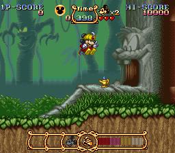 Magical Quest (SNES)  © Capcom 1992   3/3
