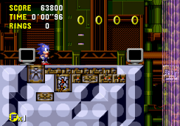 Sonic CD (MCD)  © Sega 1993   2/3