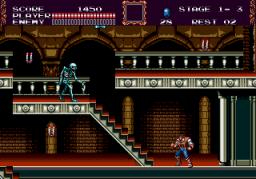 Castlevania: Bloodlines (SMD)  © Konami 1994   3/4