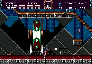 Castlevania: Bloodlines (SMD)  © Konami 1994   4/4